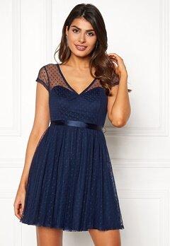 Chiara Forthi Esmeralda dress Dark blue Bubbleroom.se