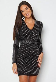 Chiara Forthi Evelyn studded dress Black / Silver bubbleroom.se