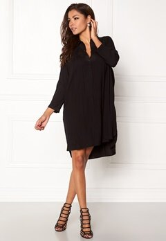 Chiara Forthi Everett Shirt Dress Black Bubbleroom.dk