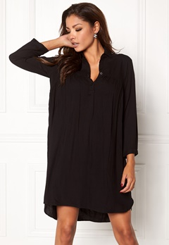 Chiara Forthi Everett Shirt Dress Black Bubbleroom.fi