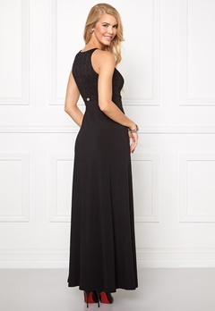 Chiara Forthi Fabiana Maxi Dress Black Bubbleroom.se