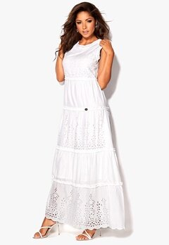 Chiara Forthi Faviana Dress White Bubbleroom.eu