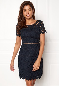 Chiara Forthi Felizia Lace Dress Navy Bubbleroom.fi