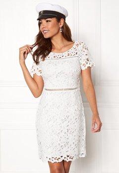Chiara Forthi Felizia Lace Dress Cream Bubbleroom.se