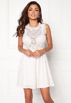 Chiara Forthi Ferrer Lace Dress Antique white Bubbleroom.no