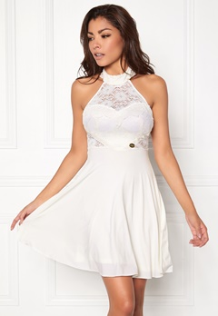Chiara Forthi Floria Dress White Bubbleroom.no
