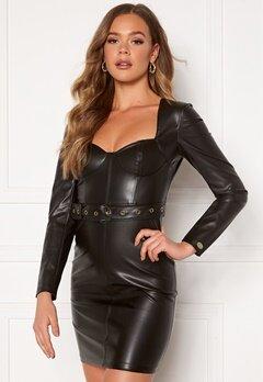 Chiara Forthi Gemma L/S Corset Dress Black Bubbleroom.se