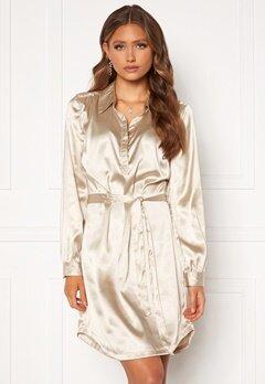 Chiara Forthi Genesis shirt dress Champagne Bubbleroom.se