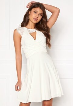 Chiara Forthi Genevra Dress White Bubbleroom.se