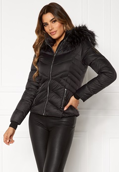 Chiara Forthi Genua Short Down Jacket Black Bubbleroom.se