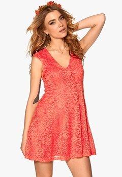 Chiara Forthi Goddess Dress Coral Bubbleroom.se