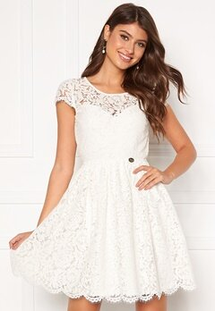 Chiara Forthi Guidia lace dress White Bubbleroom.se