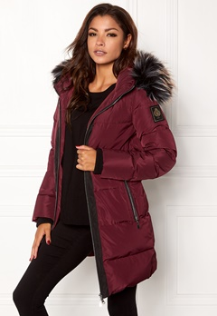 Chiara Forthi Harbin Down Puffer Bordeaux / Black Bubbleroom.se