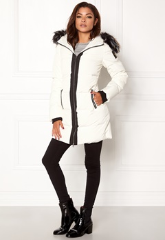 Chiara Forthi Harbin Down Puffer White / Black Bubbleroom.fi