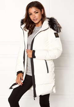 Chiara Forthi Harbin Down Puffer White / Black Bubbleroom.eu