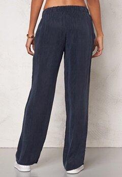 Chiara Forthi Intrend Cupro  Pants Midnight blue Bubbleroom.fi