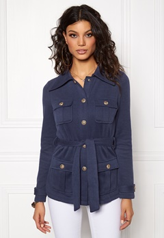 Chiara Forthi Intrend Officer Jacket Dark blue / Gold Bubbleroom.eu