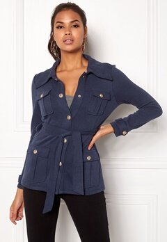 Chiara Forthi Intrend Officer Jacket Dark blue Bubbleroom.fi