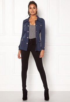Chiara Forthi Intrend Officer Jacket Dark blue Bubbleroom.se