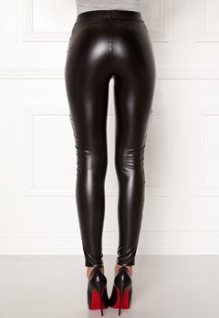Chiara Forthi Intrend Punk Leggings Black Bubbleroom.eu