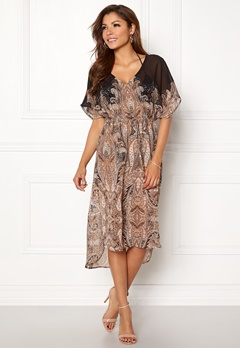Chiara Forthi Ipanema Kaftan Black / Patterned Bubbleroom.se