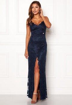Chiara Forthi Irmeline gown  Dark blue Bubbleroom.se