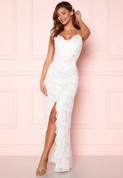 Chiara Forthi Irmeline gown  White Bubbleroom.se
