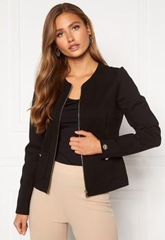 Chiara Forthi Jaquline button jacket Black Bubbleroom.se