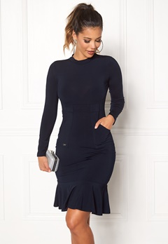 Chiara Forthi Jessamine Skinny Dress Midnight blue Bubbleroom.fi