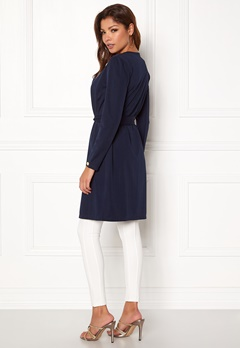 Chiara Forthi Joinville Spring Coat Dark blue Bubbleroom.se