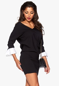 Chiara Forthi Kasia Dress Black / White Bubbleroom.no