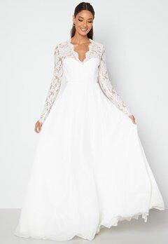 Chiara Forthi Kate lace gown White bubbleroom.se