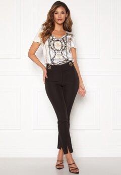 Chiara Forthi Katya buckle pants Black Bubbleroom.se