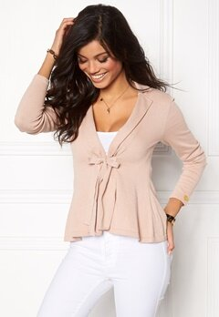 Chiara Forthi Kelly Cotton Cardigan Mocca Latte Bubbleroom.se