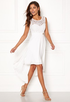 Chiara Forthi Kimberly Highlow Dress Antique white Bubbleroom.se