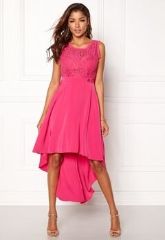 Chiara Forthi Kimberly Highlow Dress Cerise Bubbleroom.fi