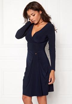 Chiara Forthi Kimora Dress Midnight blue Bubbleroom.se