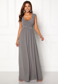 Chiara Forthi Kirily Maxi Dress Dark grey Bubbleroom.no