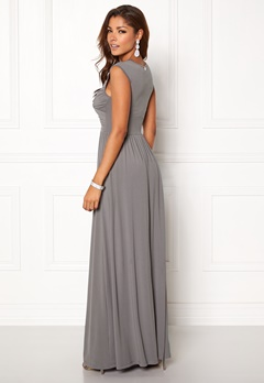 Chiara Forthi Kirily Maxi Dress Dark grey Bubbleroom.se