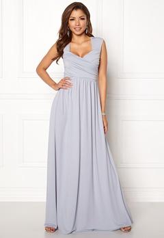 Chiara Forthi Kirily Maxi Dress Light grey Bubbleroom.se