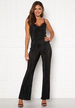 Chiara Forthi Kith plissé pants Black Bubbleroom.se