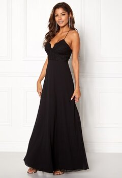Chiara Forthi Kylee Maxi Dress Black Bubbleroom.no