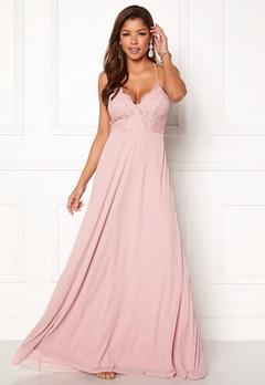 Chiara Forthi Kylee Maxi Dress Pink Bubbleroom.se