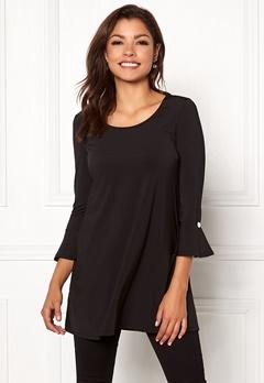Chiara Forthi Leah dress Black Bubbleroom.se