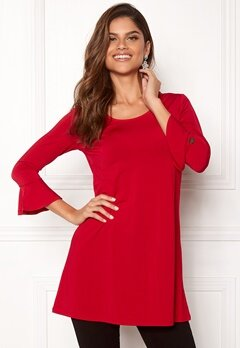 Chiara Forthi Leah tunic Red Bubbleroom.se