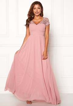 Chiara Forthi Leighann Gown Pink Bubbleroom.se