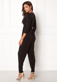Chiara Forthi Libby Jumpsuit Black Bubbleroom.no