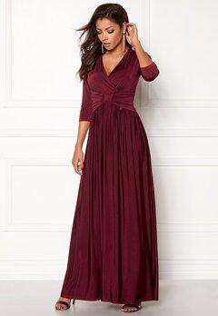 Chiara Forthi Libby Dress Bordeaux Bubbleroom.no
