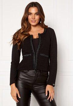 Chiara Forthi Livia classic jacket Black Bubbleroom.se