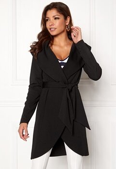 Chiara Forthi Loyalty trenchcoat Black Bubbleroom.se